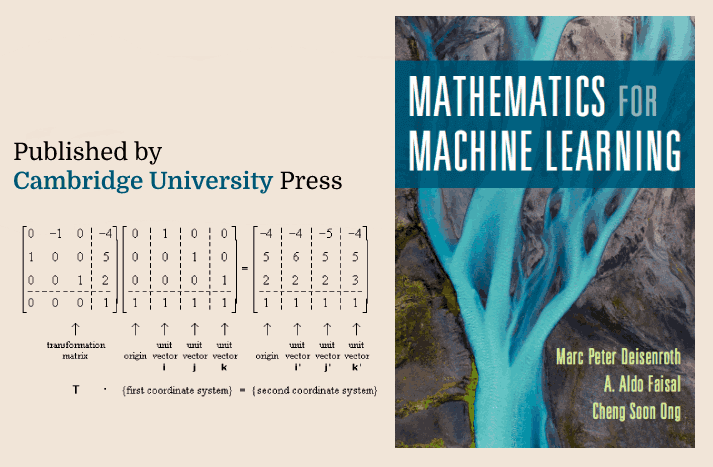 Essential Mathematics for Machine Learning!!