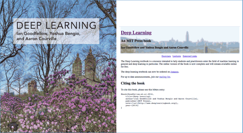 Free MIT Press Book Deep Learning