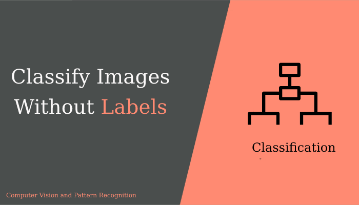 Image Classification without labelling